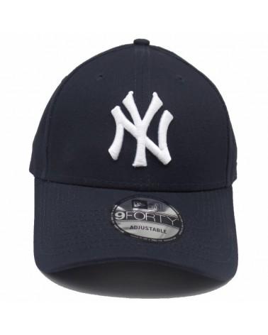 casquette NY baseball MLB new era new york yankees 9forty bleu