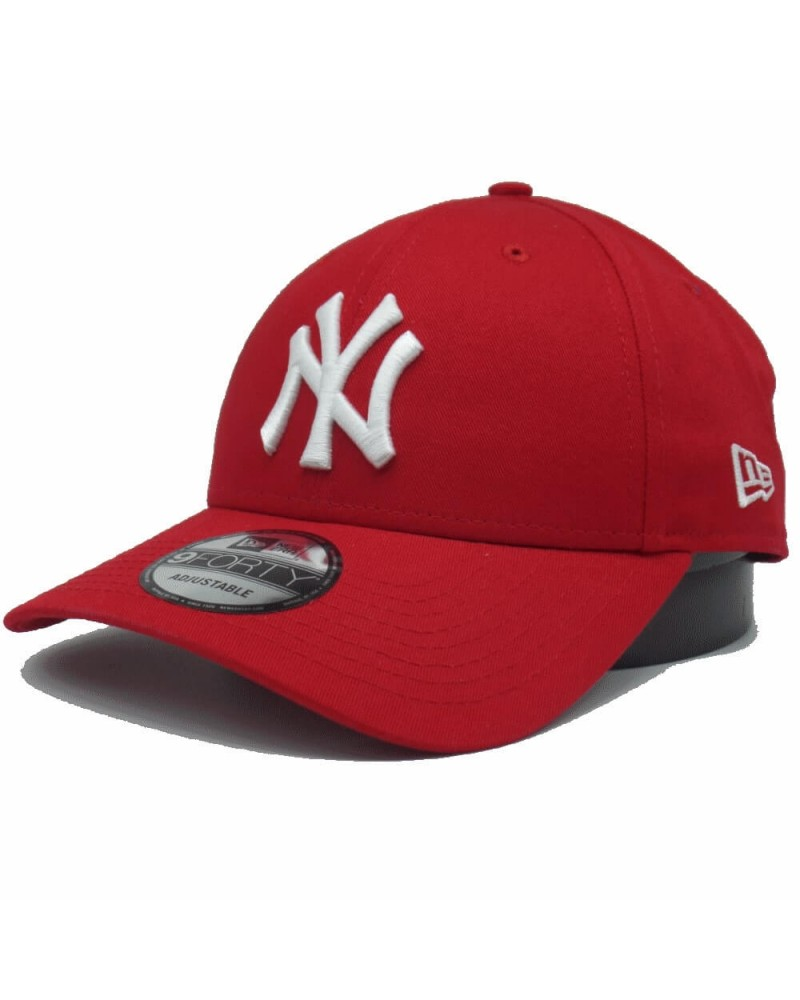 casquette new era new-york yankees 9forty rouge