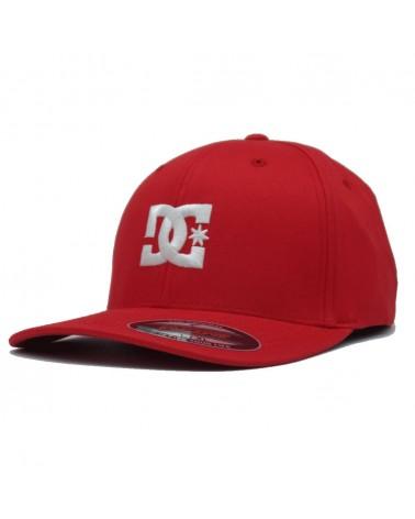 Casquette DCShoes flexfit Capstar RRH0 rouge