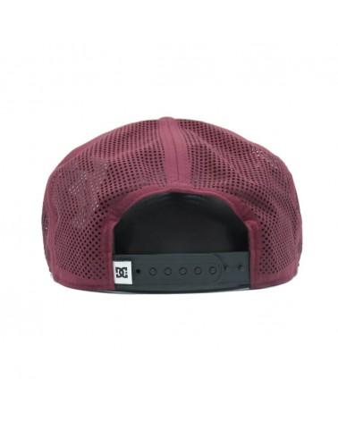 DcShoes  Perftailer-Casquette ADYHA03645 snapback  Rouge bordeaux