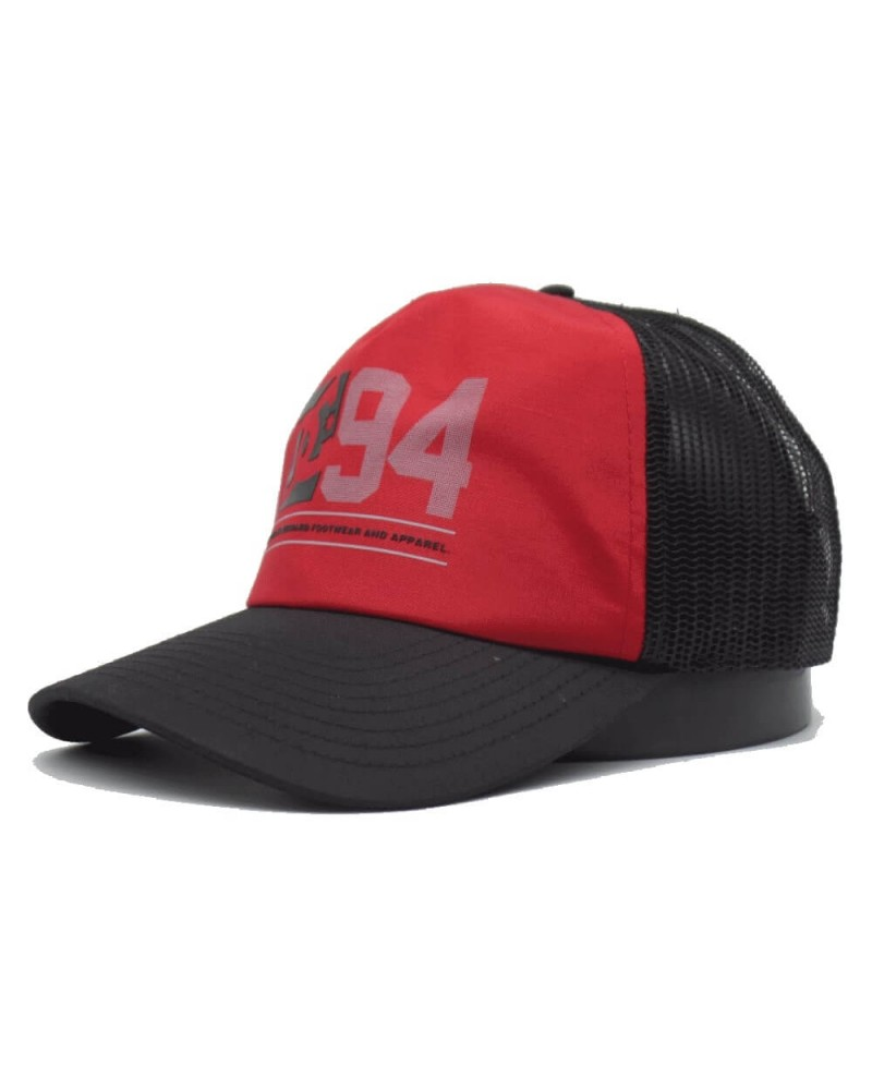 Casquette Trucker Homme DC Shoes Snapback rouge  ADYHA03629