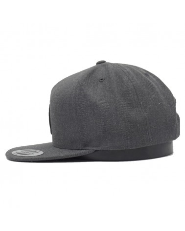 Casquette Nixon simon snapback dark grey heather  gris