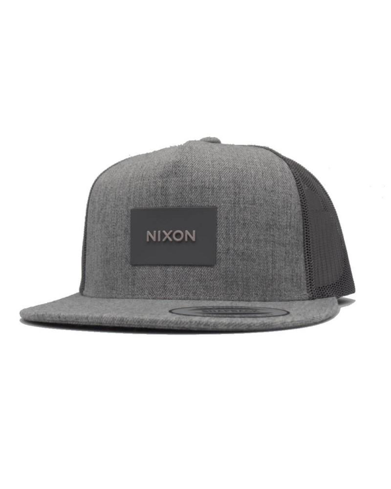 Casquette Nixon team trucker heathergray snapback  gris