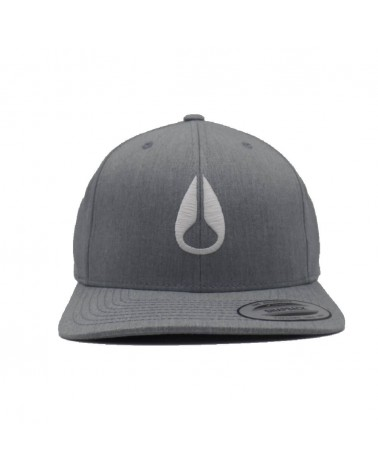 Casquette Nixon Wings snapback heather gray  gris