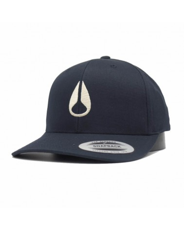 Casquette Nixon Wings snapback navy cream  bleu
