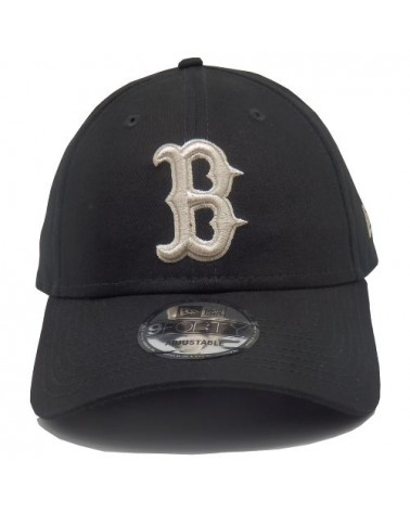 casquette newera Boston Red sox noir league essential 9forty