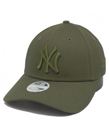 Casquette  femme NY New-York Yankees 9forty new era league essential kaki-vert
