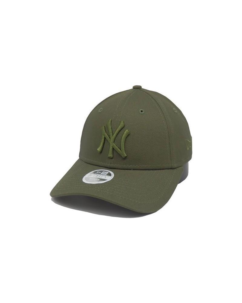 Casquette  femme NY New-York Yankees 9forty new era league essential kaki-vert