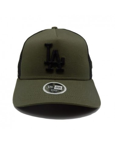 casquette femme Los angeles dodgers newera league essential  kaki-vert