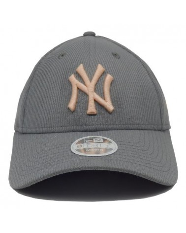 Casquette NY femme 9Forty NEW Era  New York Yankees gris