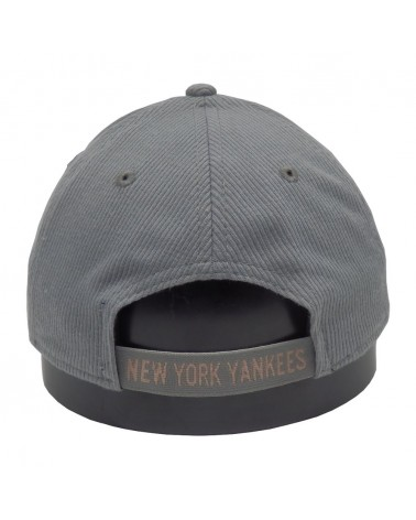 Casquette NY femme 9Forty NEW Era  New-York Yankees gris