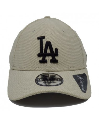 casquette Los angeles Dodgers Diamond Era 9Forty  blanc-beige