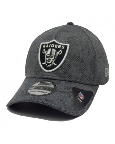 casquette Oakland Raiders New Era engineered plus 39thity casquette gris