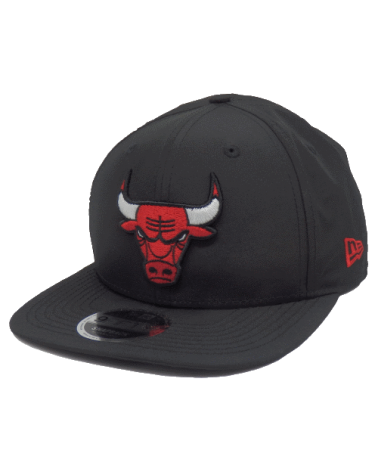 Casquette Chicago Bulls Feather 9FIFTY noir