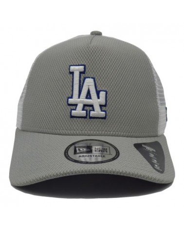 Casquette LA dodgers New Era Diamond era  Trucker gris