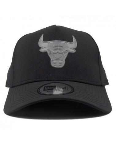 casquette 9Forty NBA chicago bulls new era a-frame noir
