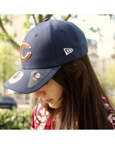casquette chicago bears new era bleu
